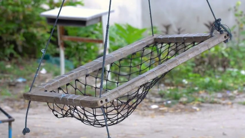 swing chair local fishing lazada swinging hanging stock video footage 4k and hd clips maldivian seats on tree nobody