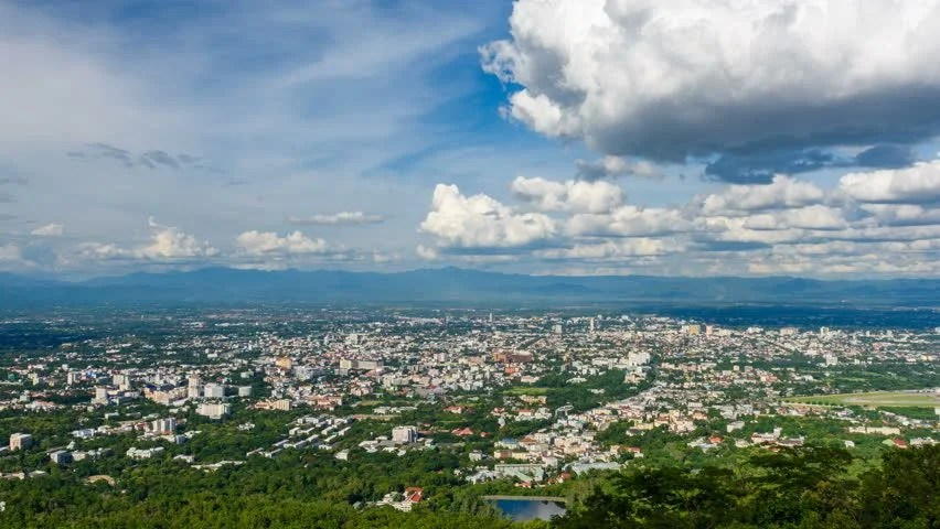 Time Lapse - Chiang Mai Stock Footage Video (100% Royalty-free ...