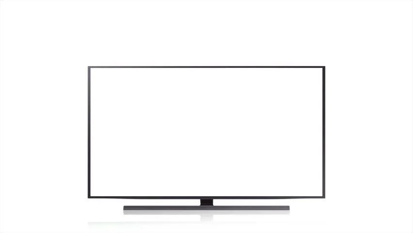 Analog TV Signal With Bad Interference. Noise On TV Screen