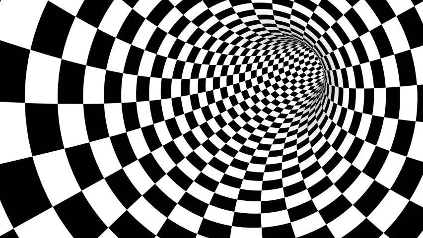 3d Optical Illusion Hd Wallpaper Abstract Optical Art Loop Stock Footage Video 3228964