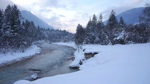 winter stock video footage - 4k