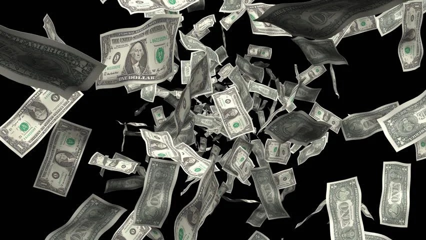 Falling Money Wallpaper Hd Money Falling From The Sky Includes Alpha Seamlessly