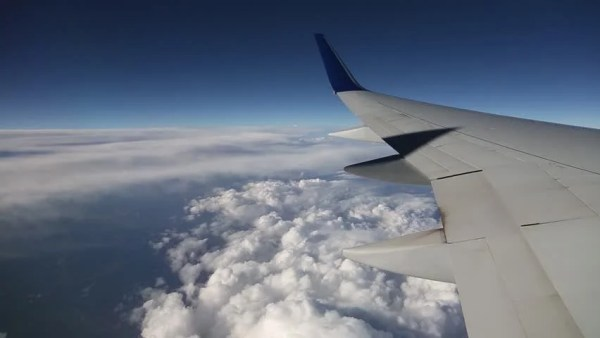 Jet Plane Flying Above Clouds Stock Footage Video 100