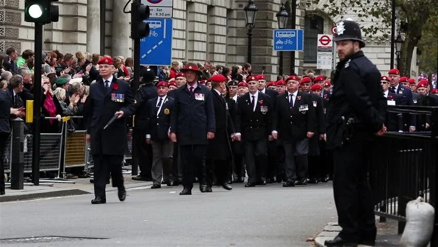 London Nov 8 People Take Part In Remembrance Day