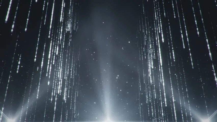 Falling Water Wallpaper 1080 Abstract Background With Shining Lights Sparks And