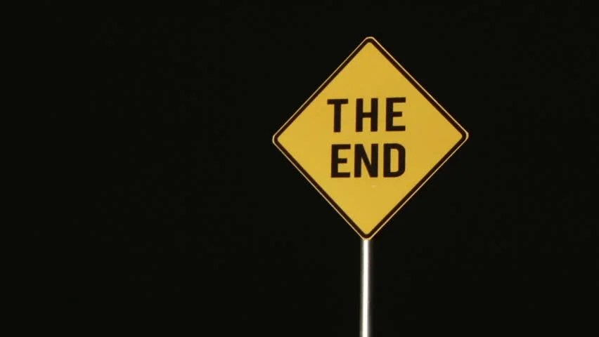 The End - Signs Stock Footage Video (100% Royalty-free) 3392195 | Shutterstock