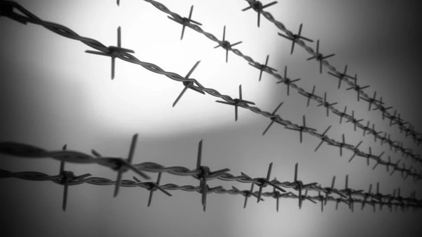Barbed Wire Clip Art Black And White