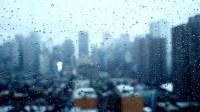 Moody Raining Day Background. Rain Stock Footage Video ...