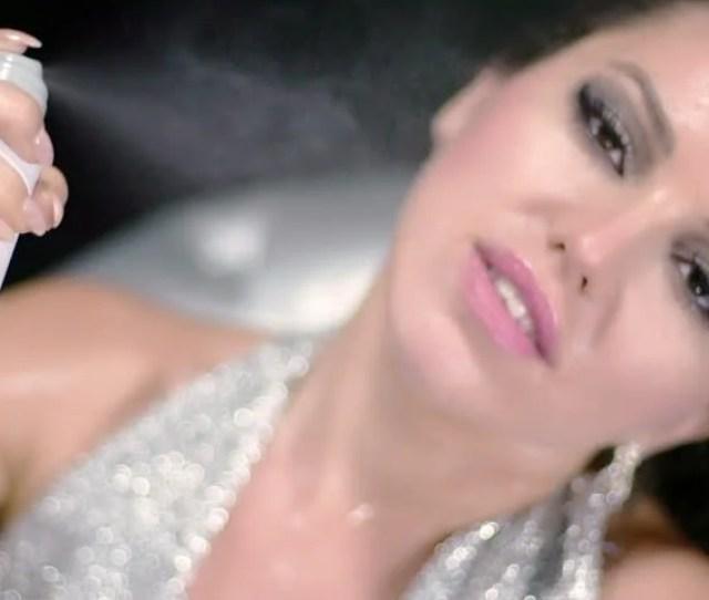 Glamorous Woman Sexy Perfomance Hot