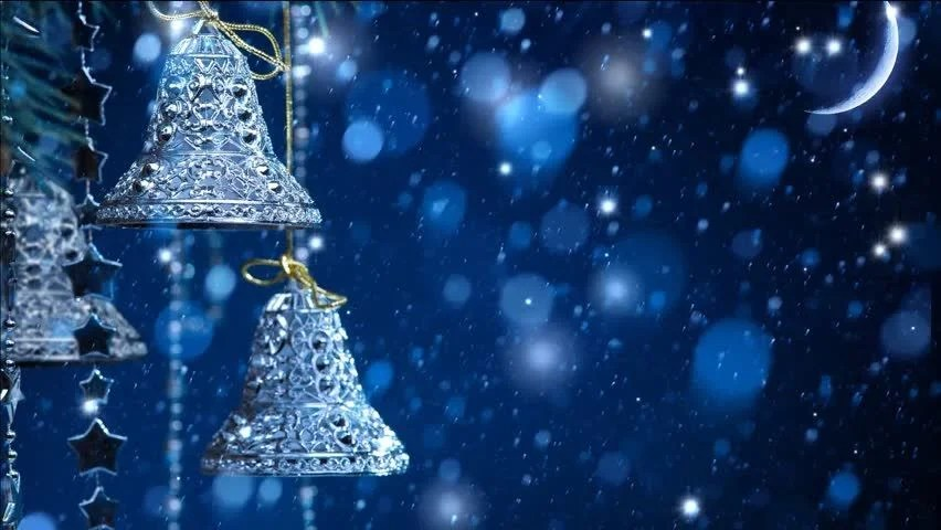 Xmas Bells Video Backgrounds For Stock Footage Video 100