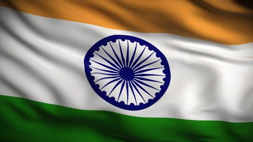 Ashok Chakra 3d Wallpaper Flag Of India Beautiful 3d Animation Of India Flag In Loop