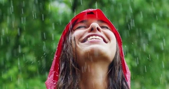 Image result for raining girl photo