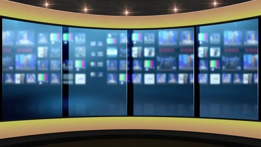 Hdtv News Talk Show Virtual Stock Footage Video 100 Royaltyfree 31641466  Shutterstock