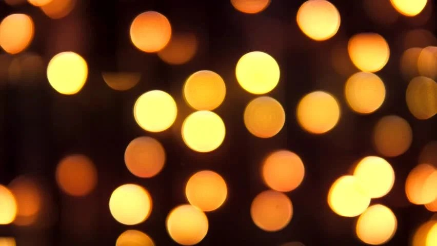 De Focused Of Night City Light Blur Background Moving