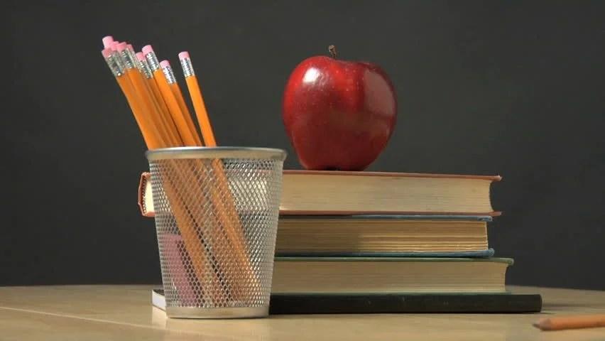 Stock video of school objects  4702856  Shutterstock