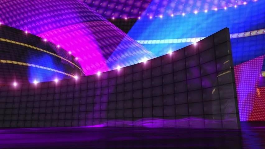 dj disco stage virtual