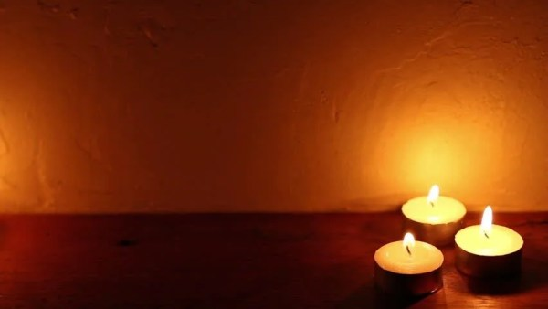 spa candle light romantic background