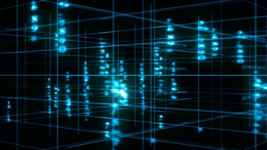 Background for News Computers Data Stock Footage Video