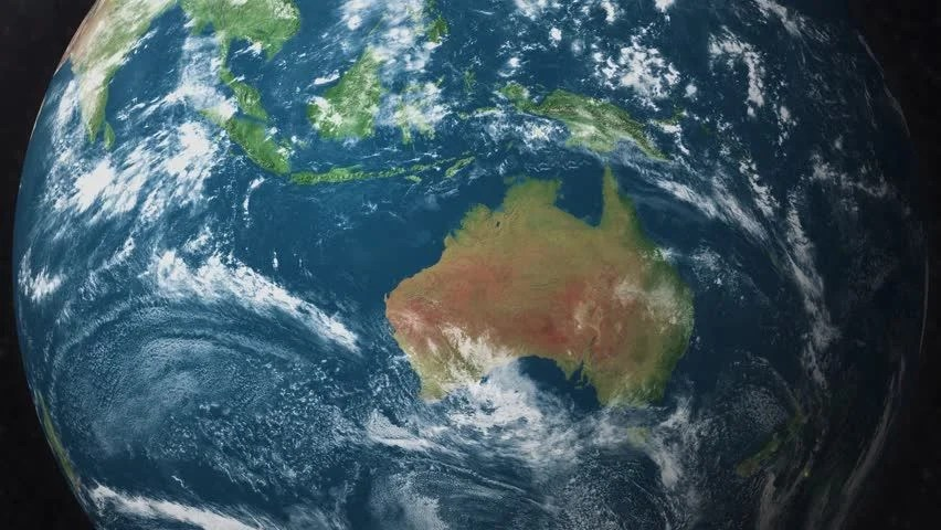 Earth Zoom to Australia Satellite Stock Footage Video (100% Royalty-free) 1018418827 | Shutterstock