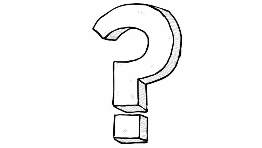 Animation of Question Mark Symbol Stock Footage Video (100