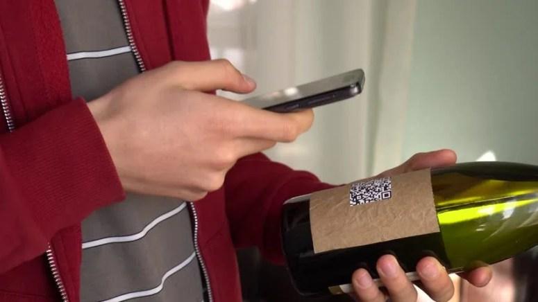 Image result for wine qr code