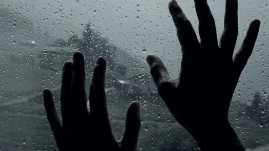 Image result for hand on window