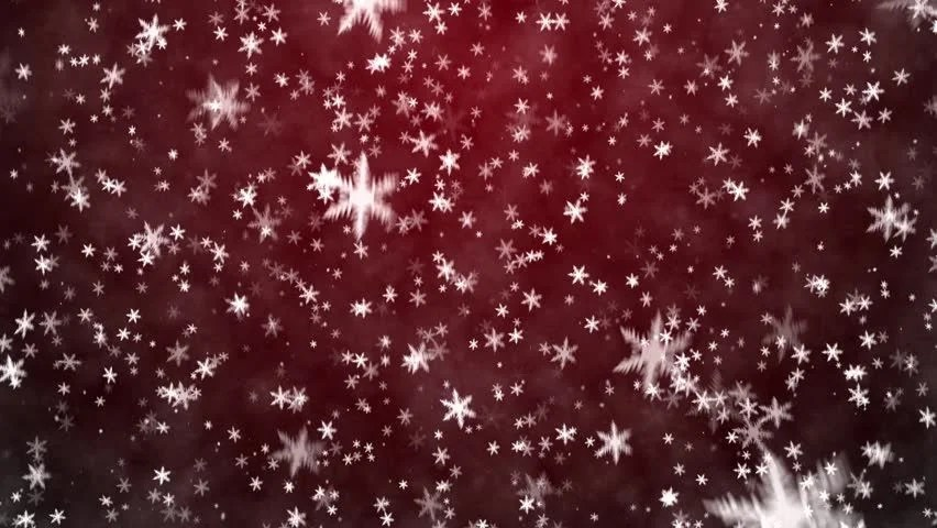 Falling Glitter Wallpaper Christmas Background With Snowflakes Falling Snow Stock