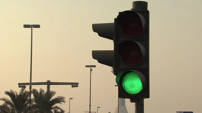 Traffic Signals Uae Mcu View Stock Footage Video 100 Royaltyfree 17534497  Shutterstock