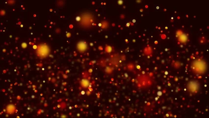 Animated Background Wallpaper Abstract Shiny Glitter Particles Fire Stock Footage Video