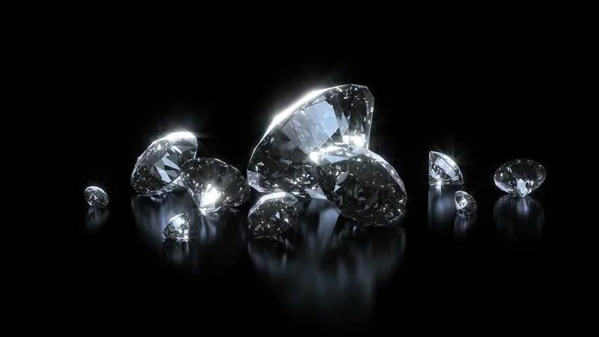 Falling Money Hd Wallpaper Beautiful Luxury Diamonds Background Looped Shining