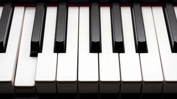 Animated Play Piano Keys. Stock Footage Video (100% ...
