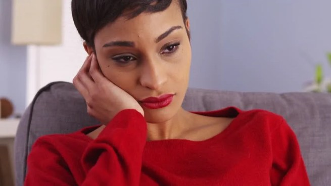 Image result for sad black woman
