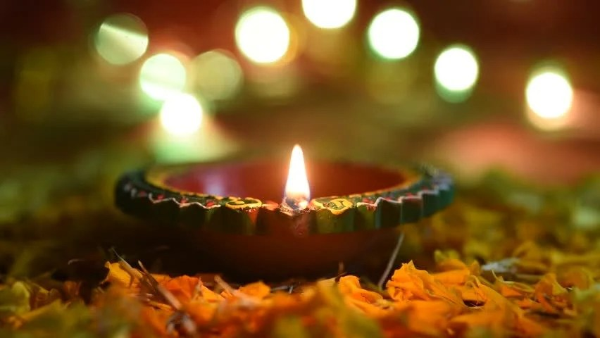 Happy Diwali - Diya Lamps Stock Footage Video (100% Royalty-free) 1018335808 | Shutterstock