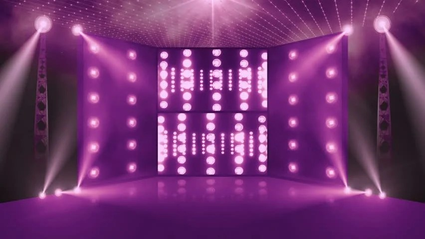 Concert Stage 3d rear Lights Stock Footage Video 100 Royaltyfree 11077388  Shutterstock