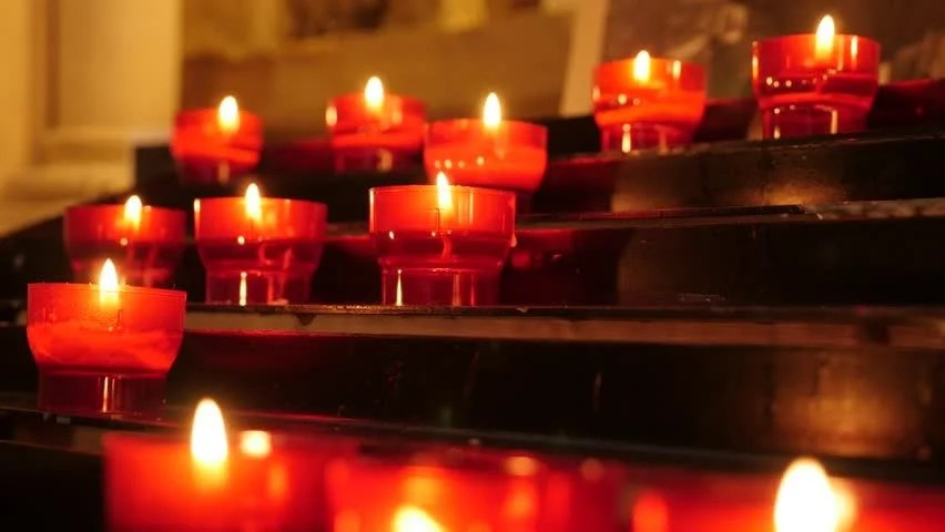 Happy Diwali Wallpaper With Quotes Hd1080i Lots Of Church Candles In Catholic Church