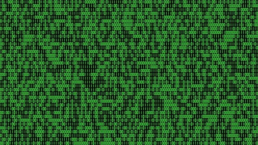 Matrix Falling Code Wallpaper Binary Code 4k 30fps Stock Footage Video 100 Royalty