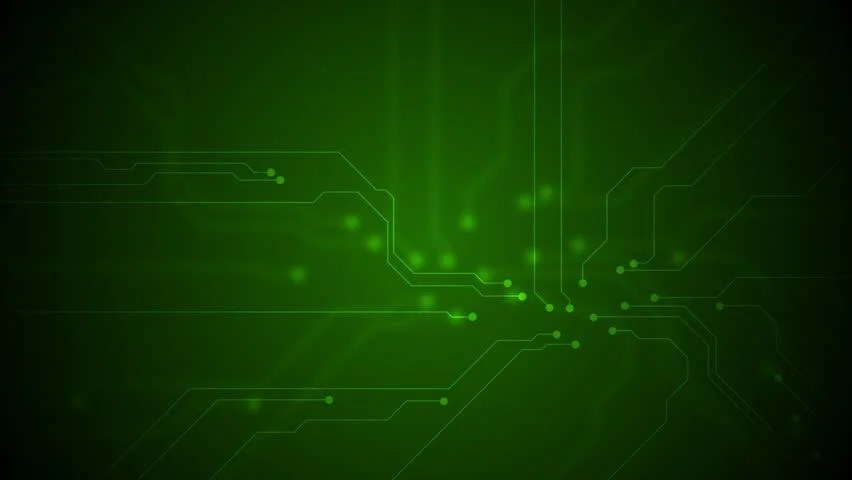 Shutterstock Hd Wallpapers Green Circuit Board Technology Animated Stock Footage