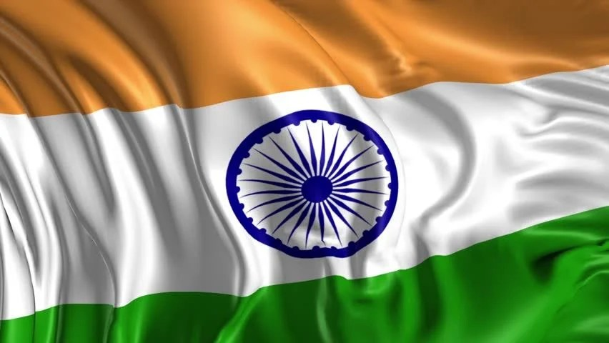 Indian Tiranga 3d Wallpaper Flag Of India Beautiful 3d Stock Footage Video 100