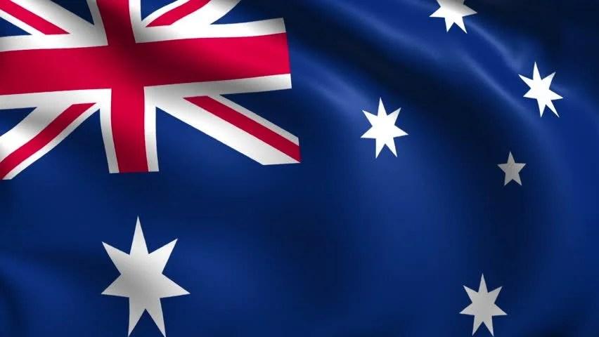 Australian Flag Hd Wallpaper Flag Of Australia With Fabric Stock Footage Video 100