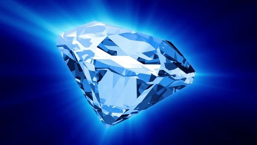 Falling Money 3d Live Wallpaper Animation Of Slowly Rotation Single Perfect Diamond With