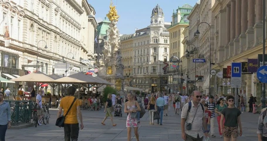 Image result for vienna walking street