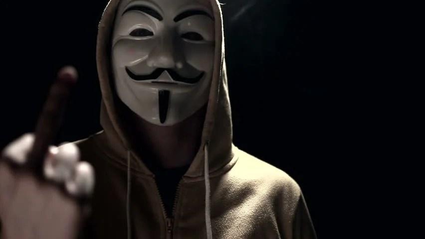 Vídeo stock de Anonymous Hacker Activist On Black (100% livre de direitos) 9154238   Shutterstock