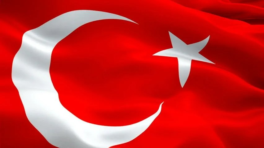 Turkey Flag Video Waving in Stock Footage Video 100 Royaltyfree 1024027949  Shutterstock