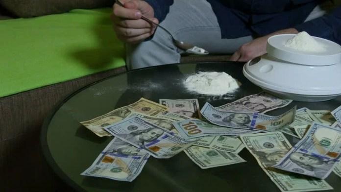 Image result for cocaine seller got a lot of money