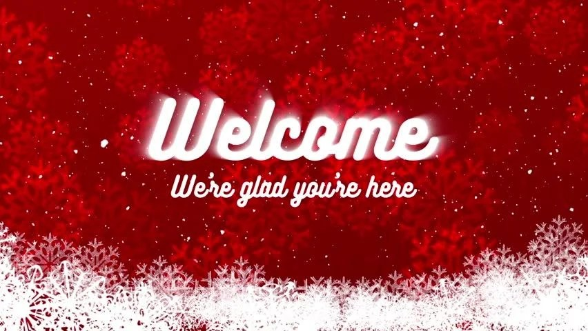 Winter and Christmas Holidays Welcome Stock Footage Video (100% Royalty-free) 21237289 | Shutterstock