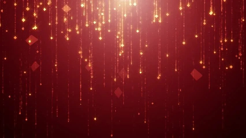 Cute Christmas Wallpaper Rose Gold Falling Gold Particles Flicker And Shimmer Against A Dark