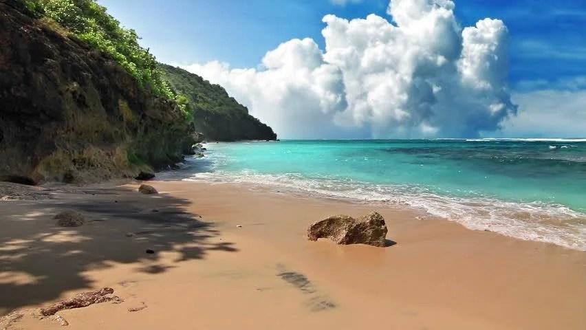 Beach Scene Stock Footage Video Shutterstock