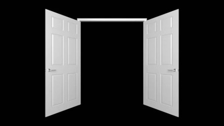animated opening doors 3d alpha included mask hd shutterstock clip footage