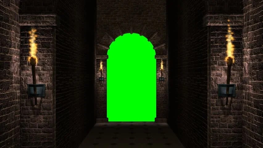 Medieval Castle Arch and Torches Stock Footage Video 100 Royaltyfree 32828779  Shutterstock