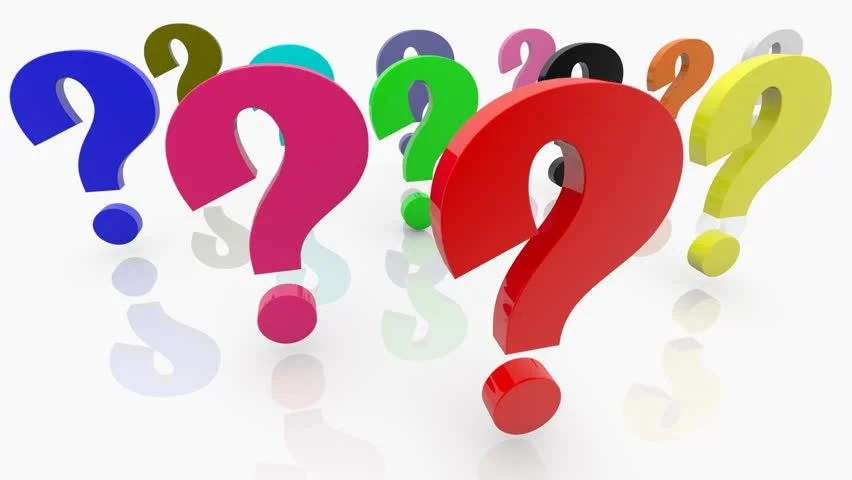 Question Marks Stock Footage Video (100% Royalty-free